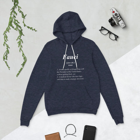 Fauci Definition - Unisex hoodie