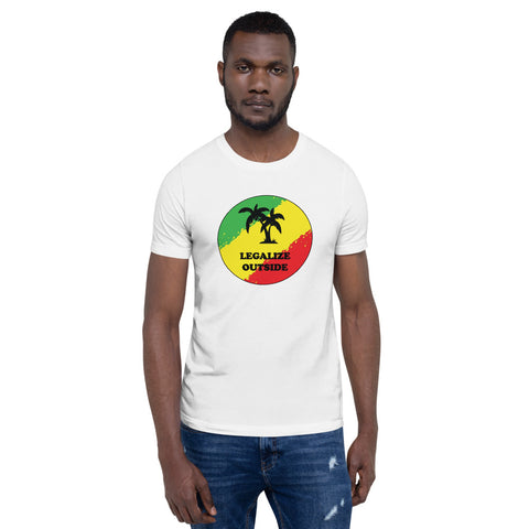 Legalize Outside Short-Sleeve Unisex T-Shirt