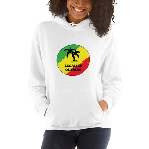 Legalize Outside Unisex Hoodie