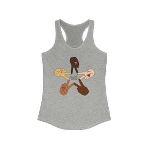 """Together We Shine"" Women's Racerback Tank"