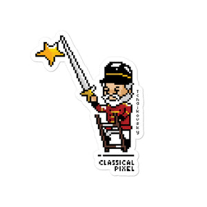 Tchaikovsky as Nutcracker Sticker - ClassicalPixel