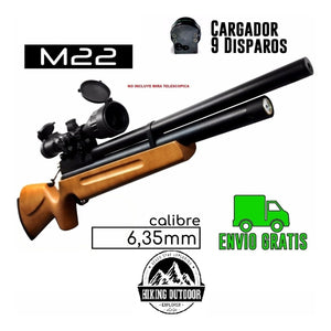 Ofertas Pack - Rifle pcp m22 calibre635