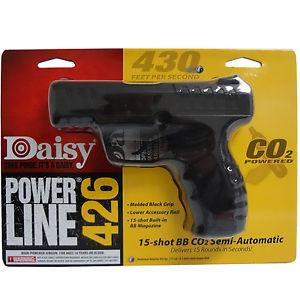 PISTOLA DAISY POWER LINE 426 DISPLAY BALIN CAL. 4.5