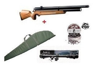 Ofertas Pack - Rifle pcp m 22 + mira + funda + poston