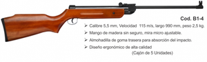 RIFLE B1-4 (MADERA) / RESORTE