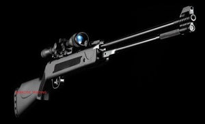 RIFLE WF600P / RESORTE + MIRA TELESCOPICA 4X20 + POSTONES