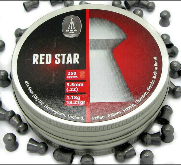 LATA POSTON BSA RED STAR/CALIBRE: 5,5/ 250 UNIDADES