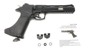 Revolver Cp400 / Full Metal - Poston / Co2