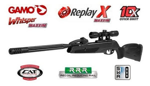 Rifle Gamo Replay 10 Max Igt + Funda + Mira