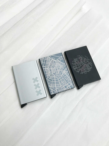 Secrid wallet engraving