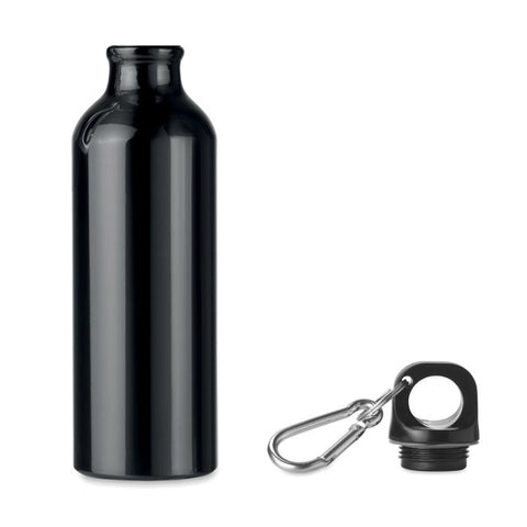 Aluminium drinkfles 750 ml zwart