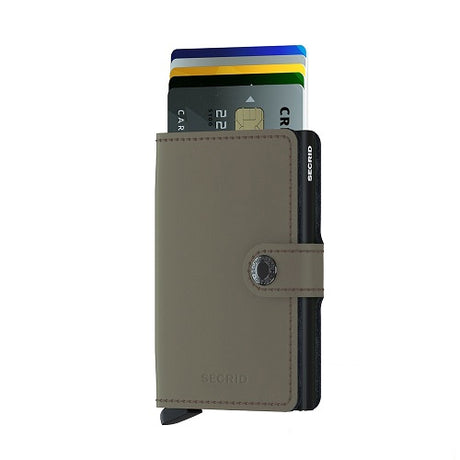 SECRID Miniwallet Matte Green Black