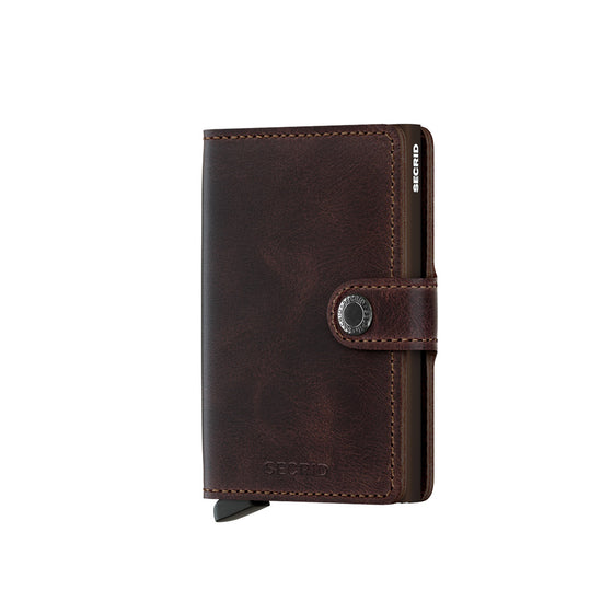 SECRID Miniwallet | Vintage Chocolate