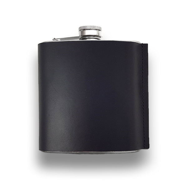 Luxurious leather flask