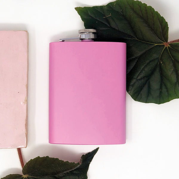 Trendy flask pink