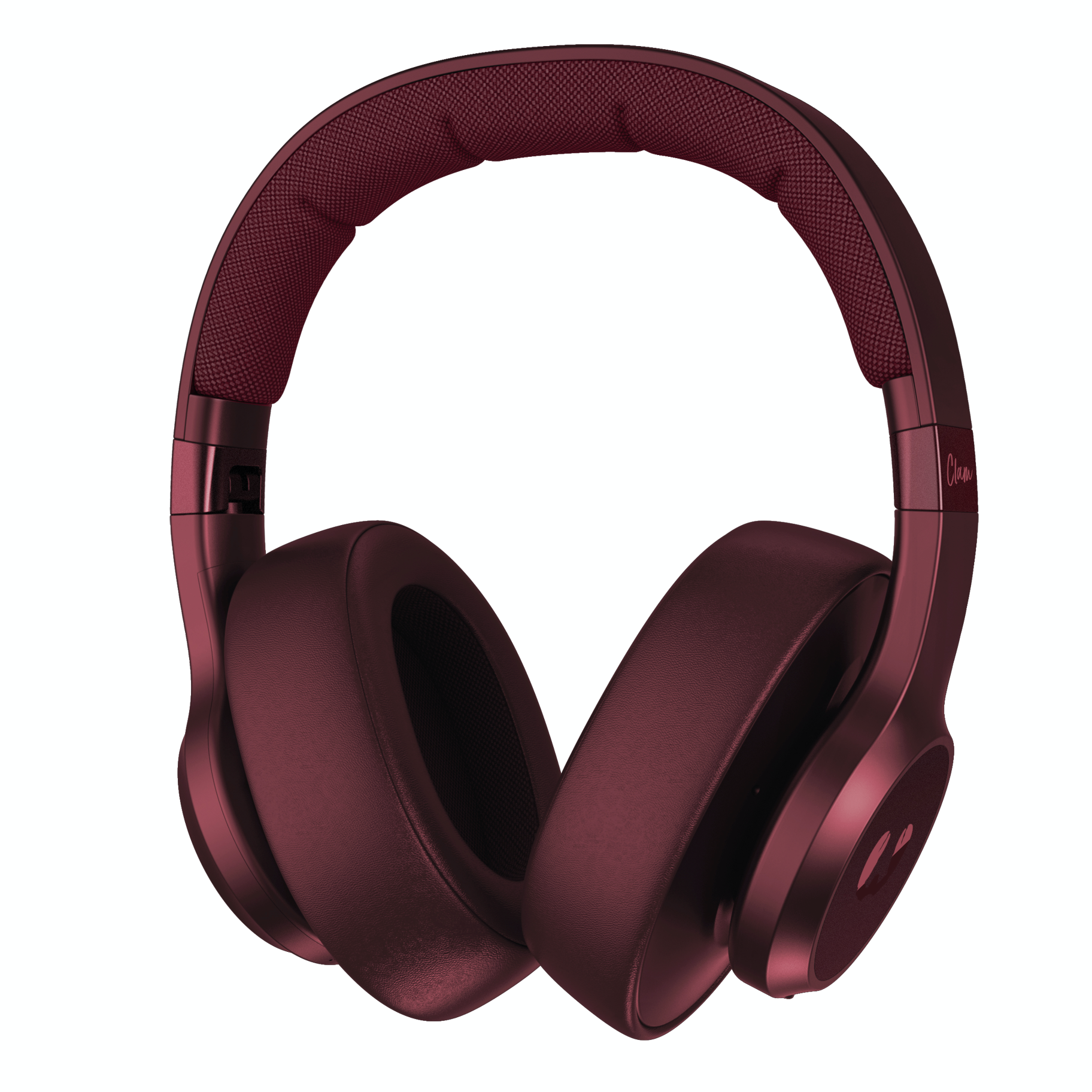 Clam headphones Fresh 'n Rebel ruby red