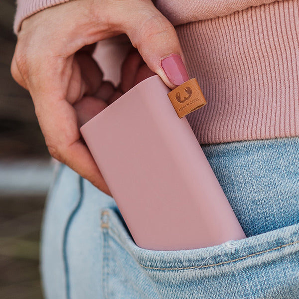 fresh n rebel powerbank dusty pink