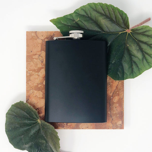 flask with black coating