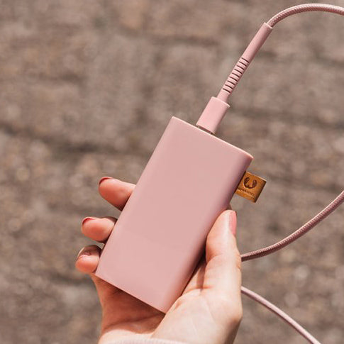 Fresh 'n Rebel powerbank 12000 mAh dusty pink