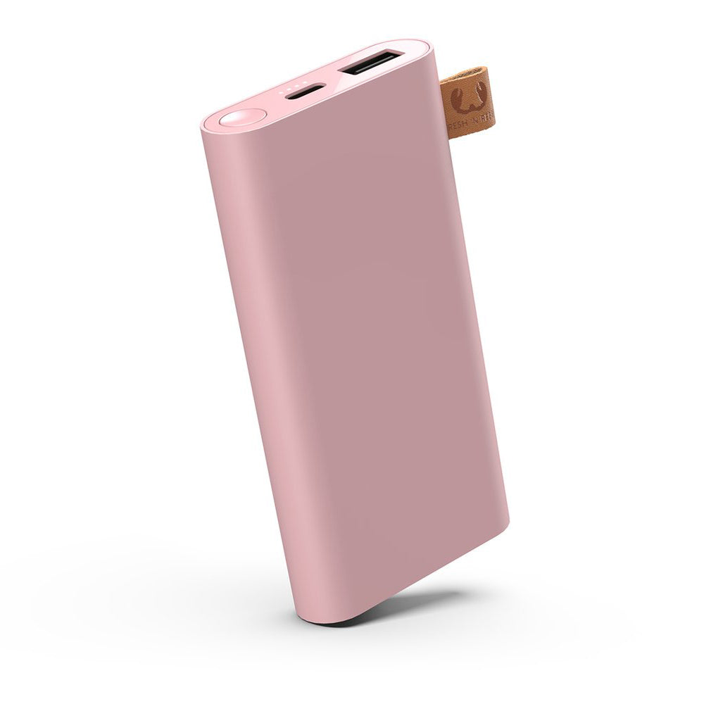 fresh n rebel powerbank dusty pink 6000 mAh