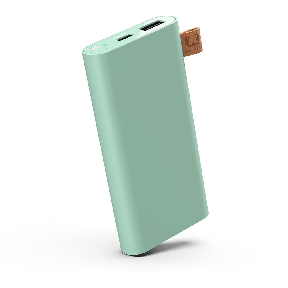 fresh n rebel powerbank 6000 mah misty mint
