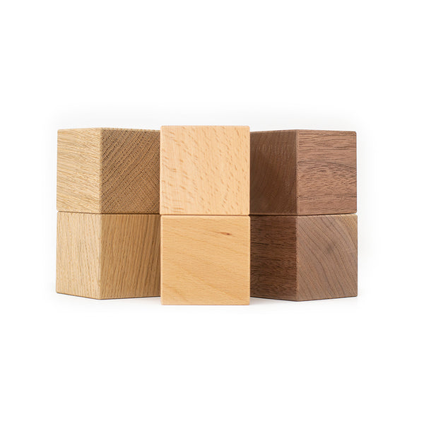 Wooden blocks beech