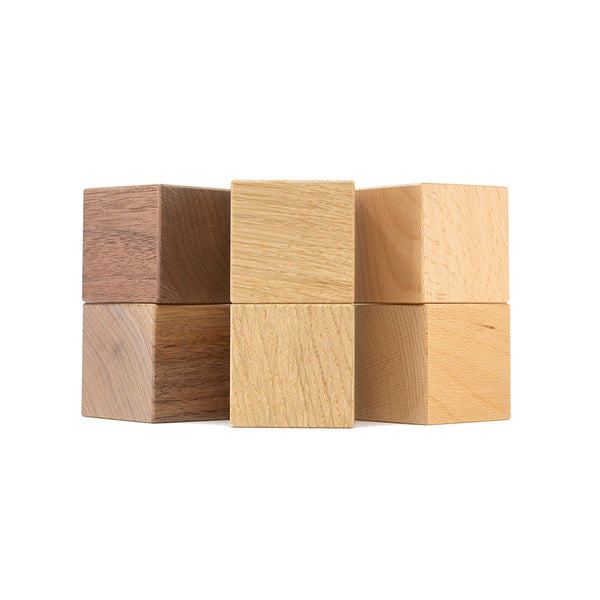 Wooden blocks oak