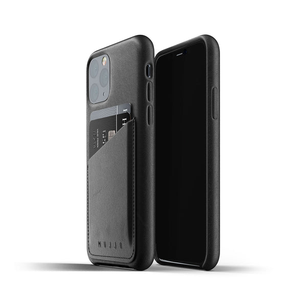 Mujjo iPhone 11 Pro wallet case black