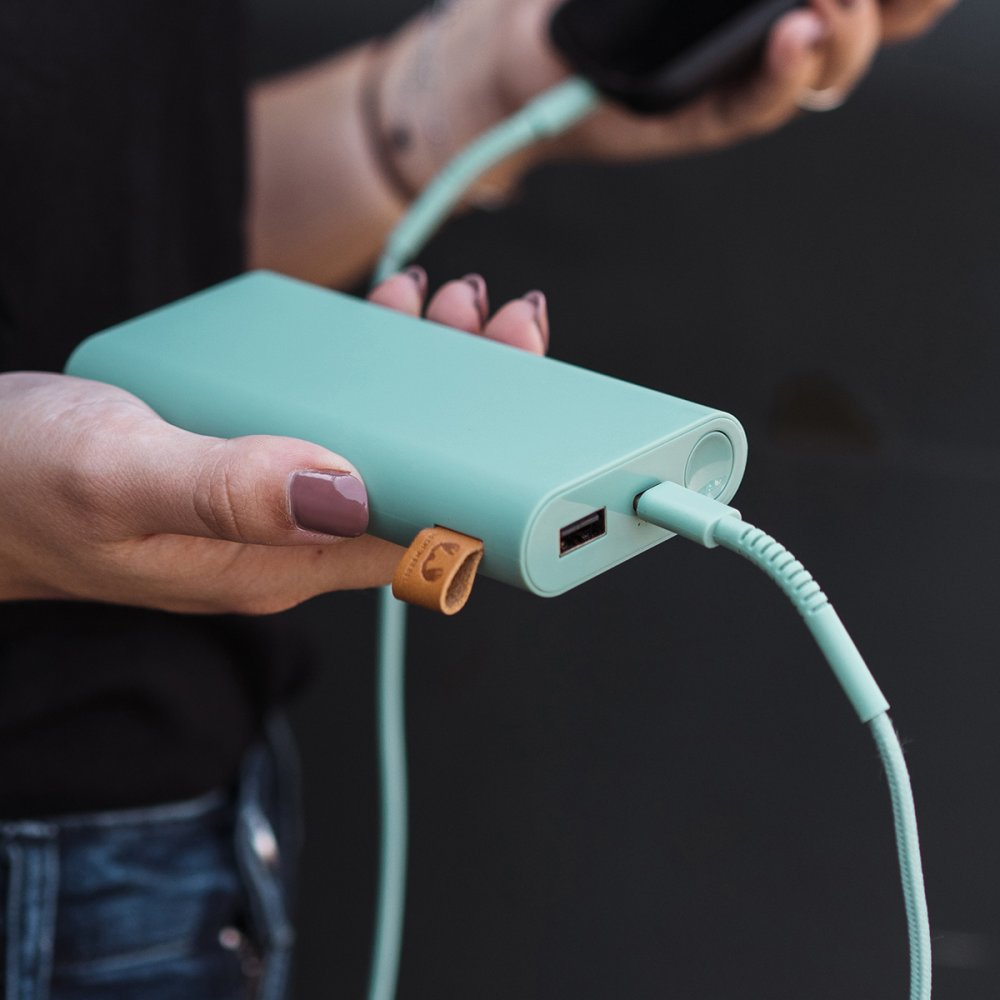 fresh n rebel powerbank misty mint