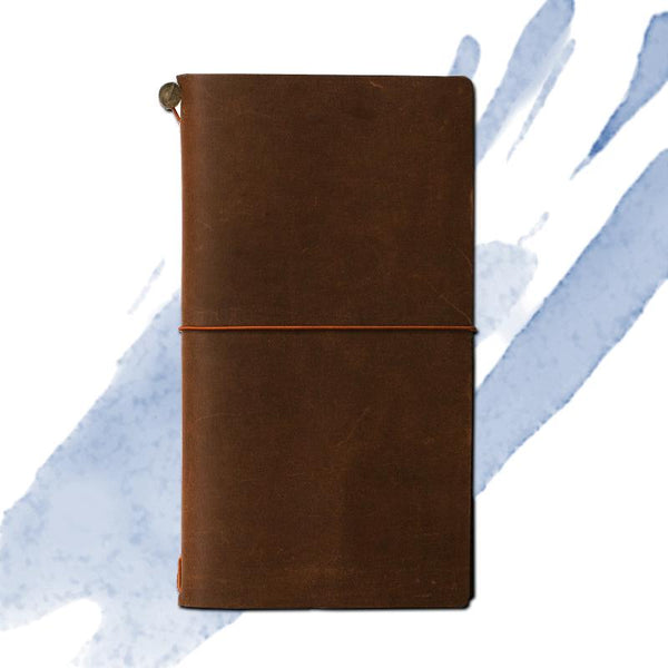 Traveler's Notebook Large Brown