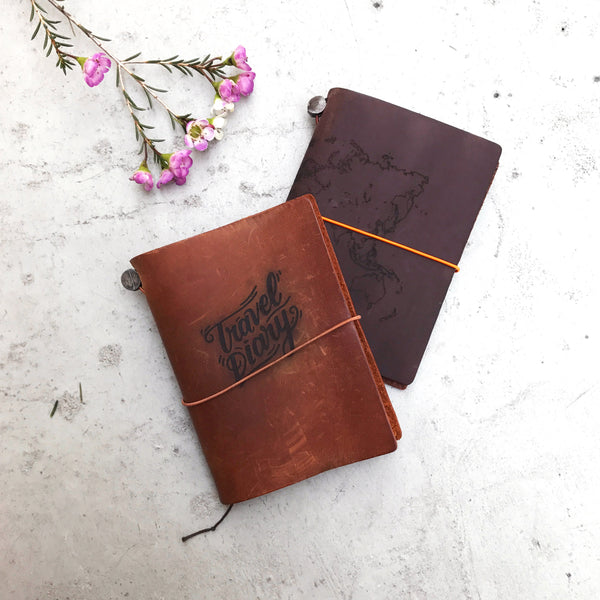 Traveler's Notebook Passport Dark Blue