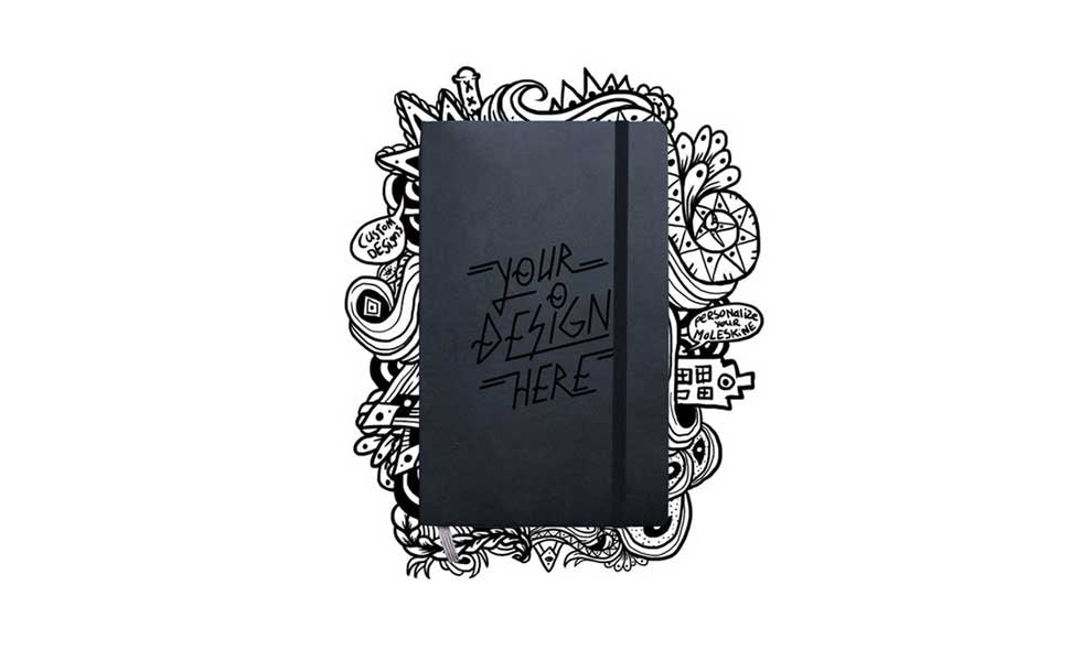 Engraved Custom Notebook Moleskine
