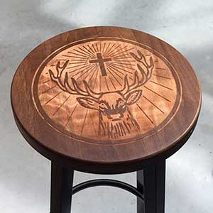 Custom stools for Jagermeister
