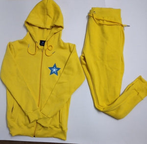 brightness hoodies set