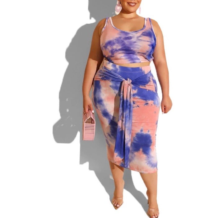 Plus size women set