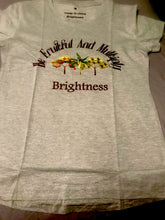 Load image into Gallery viewer, brightness t shirt trees design