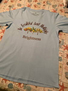 brightness t shirt trees design