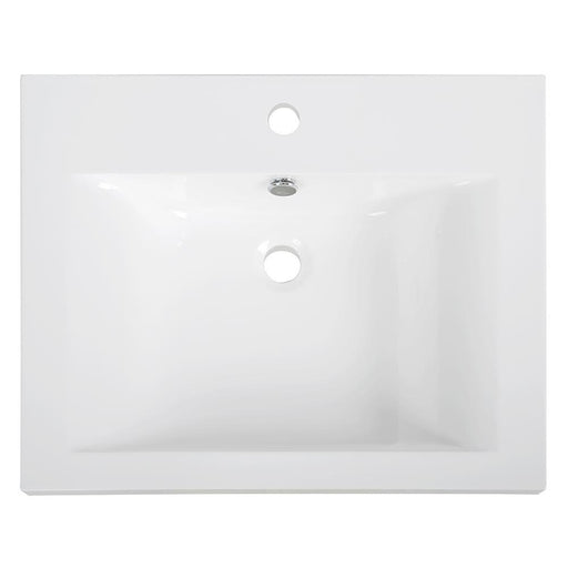 "24"" Solid Surface Resin Streamline K-098-SLSITRC-24 Vanity Top"