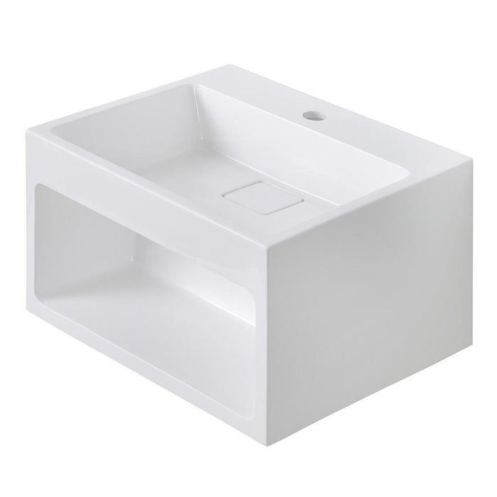 Streamline K-1206-SLSWS-18 Solid Surface Resin Wall Hung Basin