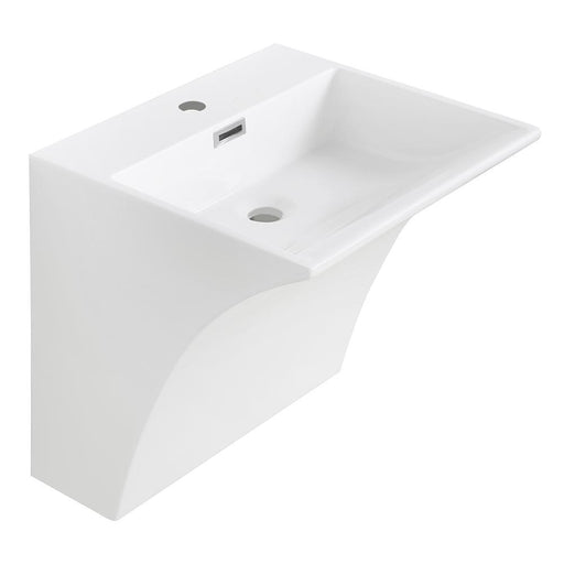 Streamline K-1722-SLSWS-20 Solid Surface Resin Wall Hung Basin
