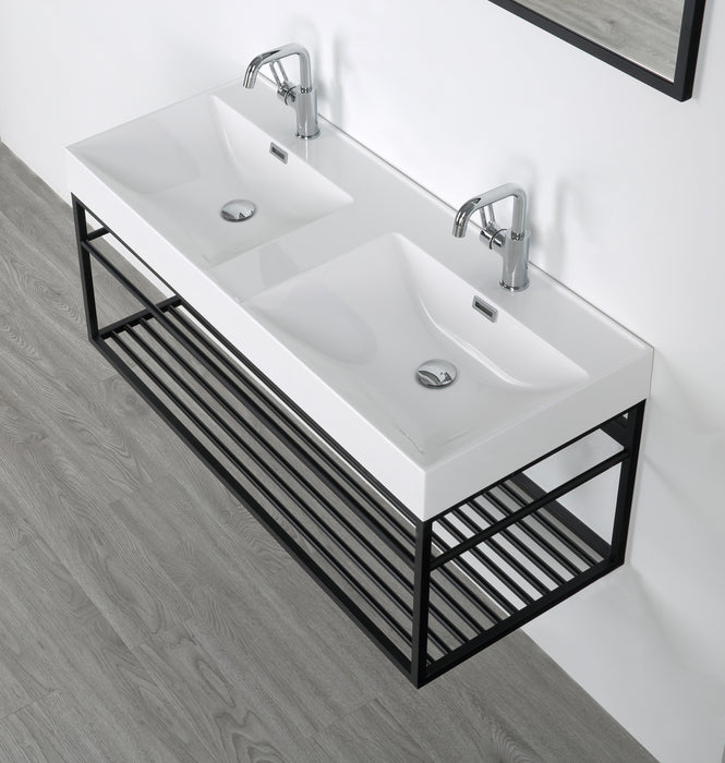 48'' Streamline K1948-170-M48 Floating Vanity With Mirror