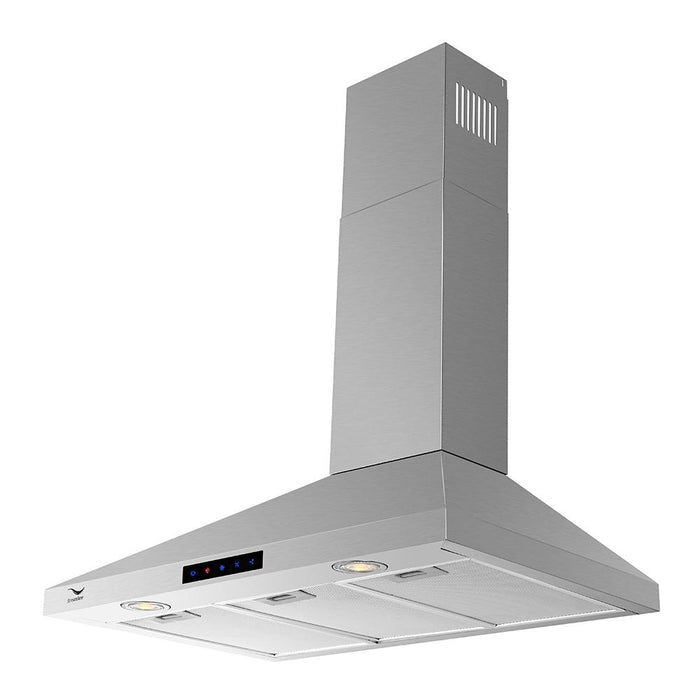 36'' Streamline S-161MSH-36 Convertible Wall Mount Kitchen Range Hood