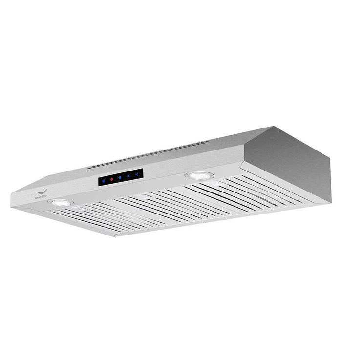 36'' Streamline S-221-USBFL-36 Ducted Under Cabinet Kitchen Range Hood