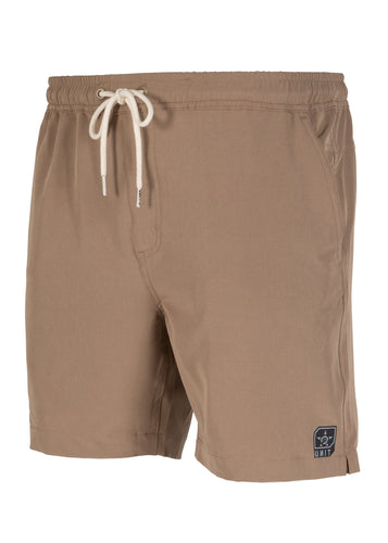Unit Mens Short - Elastic Waist - Boardwalk