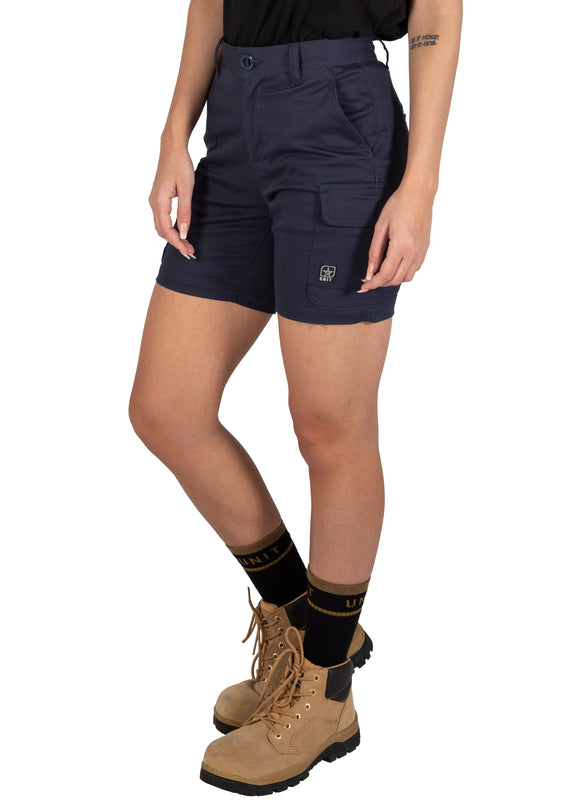 Unit Ladies Workwear Short - Cargo - Staple