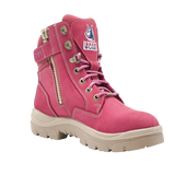 South Cross - Ladies Zip Lace Up Safety Boot