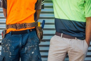 Tradies Gear No Buckle Belt