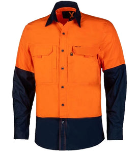 Lightweight Shirt, Cool Shirt, Breathable, Work Shirt, Lightweight, Cotton, Hi Vis, Hi-Vis