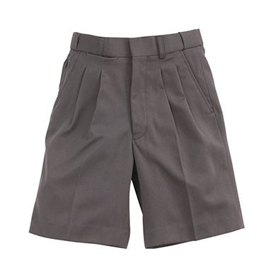 Grey Boys School Shorts