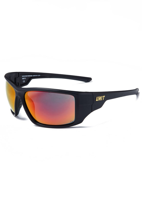 Mens Safety Eyewear - Bullet - Black Orange